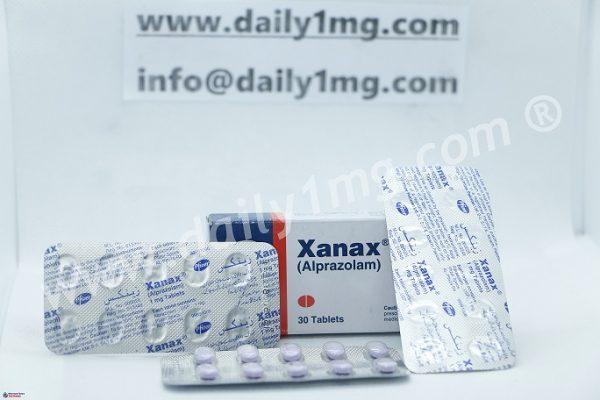 Alprazolam Xanax 1mg By Pfizer 1 Strip Daily 1mg