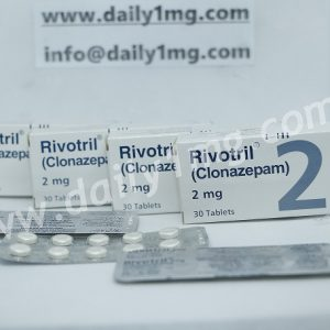 Clonazepam Rivotril 2mg 10 Tablets 1 Strip