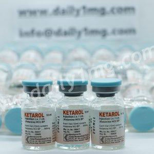 Hydrochloride Ketarol HCL 500mg 10ml by Global Pharmaceuticals 1 Vial