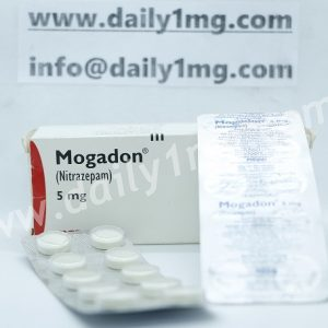 Nitrazepam Mogadon 5 mg 10 Tablets 1 strip