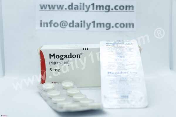 Nitrazepam Mogadon 5 mg 10 Tablets 1 strip