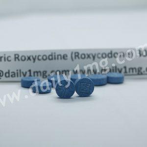Oxycodone Hydrochloride Roxicodone 30mg M30 1 Pill