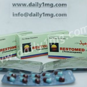 Temazepam Restomed 30mg 1 Strips