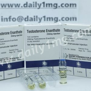 Testosterone Enanthate by Geofman Pharma 250mg 1 Amp